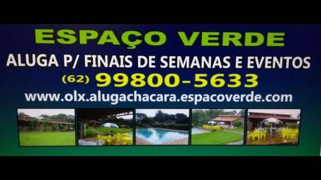 Aluga Chácara Espaço Verde para finais de semana e eventos