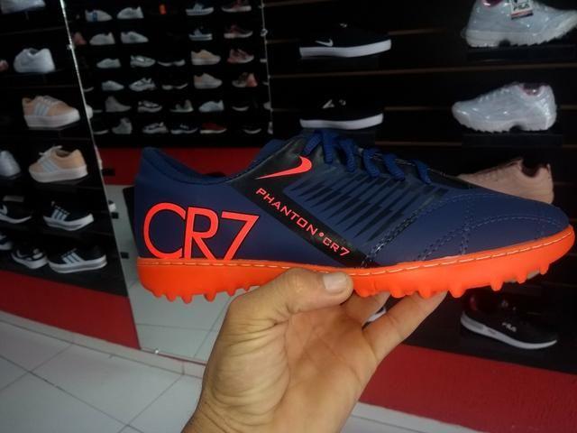 e5a263efc Chuteiras Nike mercurial Adidas CR7 futsal i socayt falar cm Daniel fone  37998689653