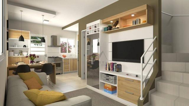 Sobrado com 2 dormitórios à venda, 48 m² por R$ 147.500 - Conjunto Habitacional Jardim Hum