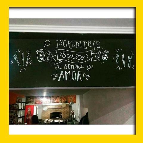 Lettering em Paredes - Foto 6