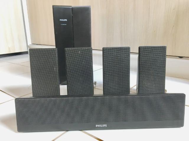 Micro System Gradiente MSD 730 e Conjunto de Caixas de Som Philips - Foto 6