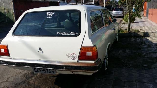 Caravan 1981 4cc álcool troca 10x cartao - Foto 2