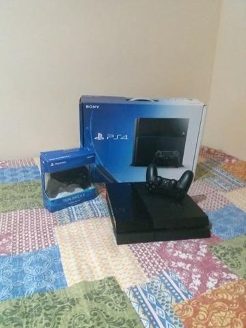 Playstation 4 impecável na caixa 2 controles - Foto 4