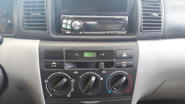Raridade: Corolla XEI 2003/2003, câmbio manual,impecável, aceito troca - Foto 10