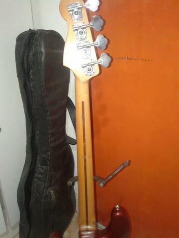 Contrabaixo Fender Precision mexicano - Foto 6