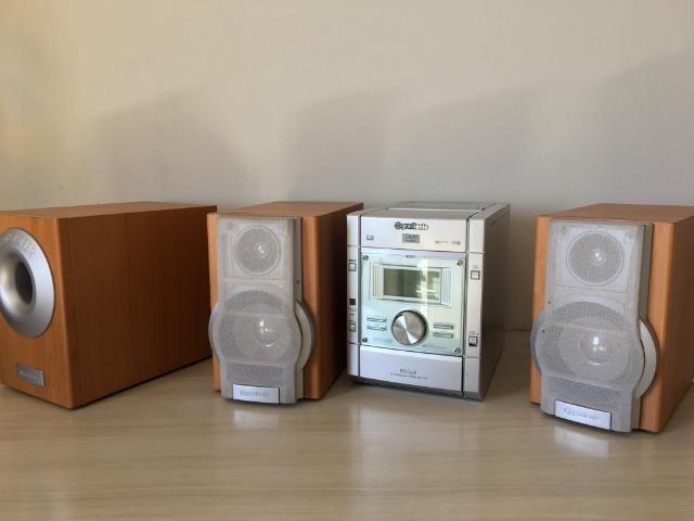 Micro System Gradiente MSD 730 e Conjunto de Caixas de Som Philips - Foto 3