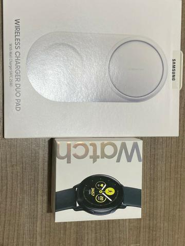 Samsung tab s4 + watch active+ carregador - Foto 2