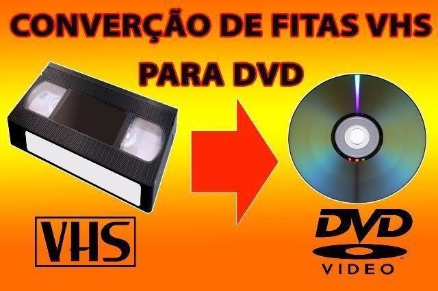 Passo suas fitas vhs para dvd, pendrive ou hd externo R$ 39,99 a unidade - Foto 6
