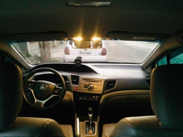 Honda Cívic EXR 2013/2014 Automático impecável - não é de leilão - Foto 6