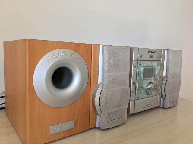 Micro System Gradiente MSD 730 e Conjunto de Caixas de Som Philips - Foto 2