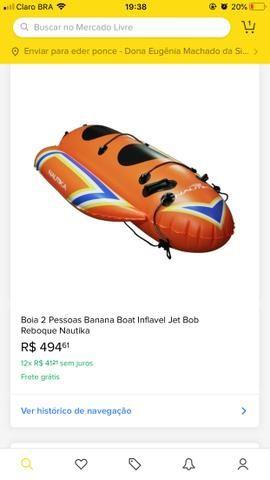 Banana reboque jet ski