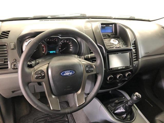 Caminhonete Ford Ranger XLT 2.5 4x2 Flex 2013 - Ipva Pago e Pneus Novos - Foto 10