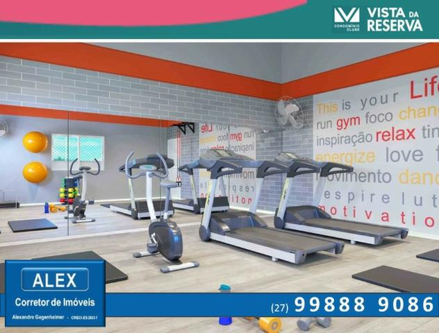 ALX - 14 - APÊ de 2 Quartos, Lazer com piscina e academia - Vista da Reserva - Foto 7