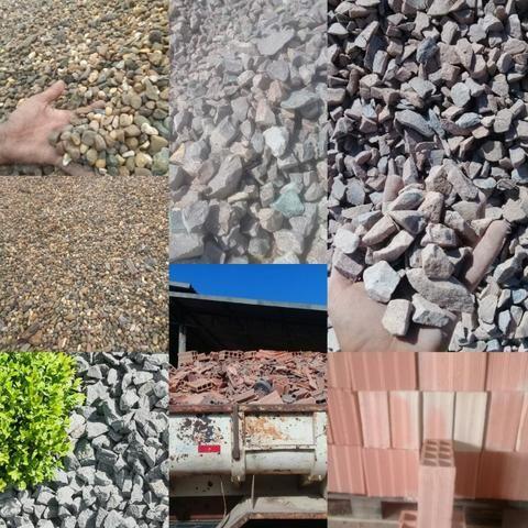 Oferta Imperdível Seixo Brita Areia Pedra Rachão entrega rápida