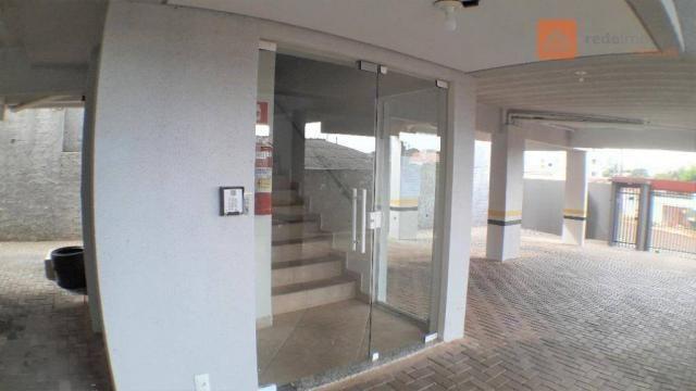Apartamento com 2 Quartos, Churrasqueira, Para Alugar no Pioneiros Catarinense. - Foto 2