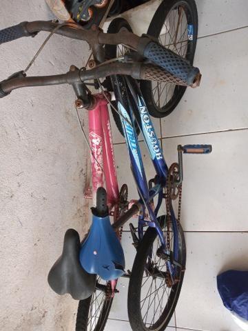 Vendo essas duas bicicletas