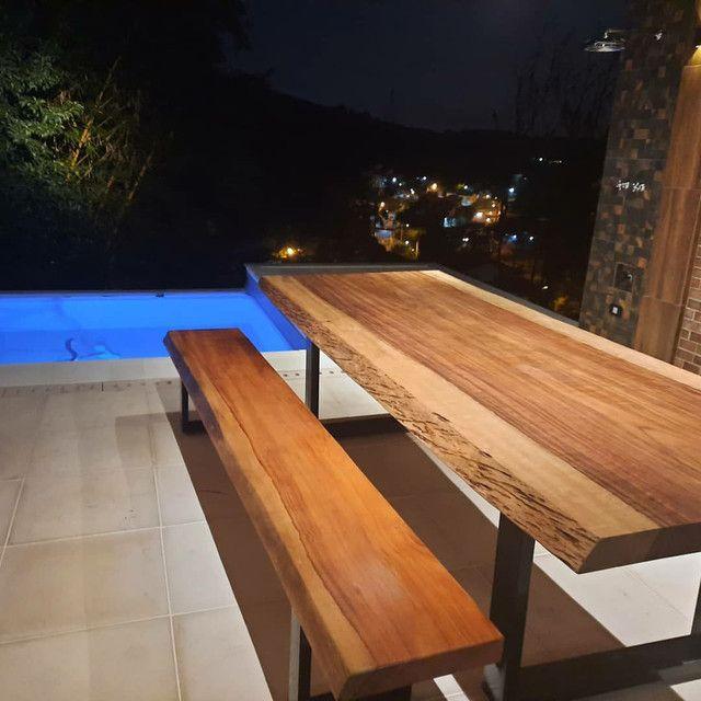 Mesa de jantar ou espaço gourmet