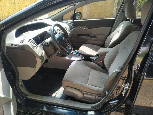 Civic lxs 1.8 automático flex 2013 - Foto 14