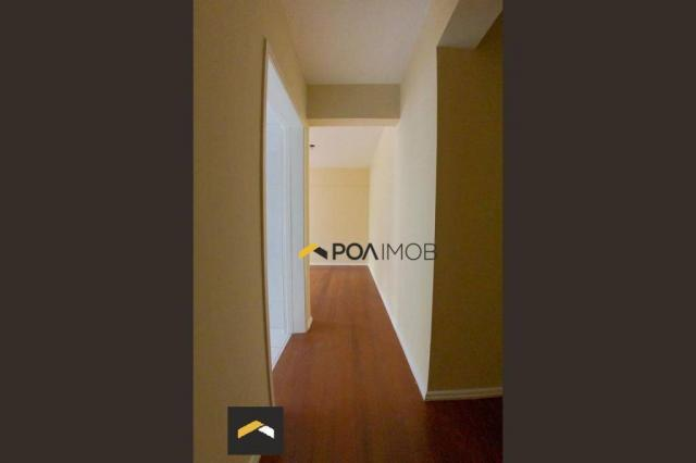 Apartamento com 2 dormitórios para alugar, 75 m² por R$ 2.130,00/mês - Rio Branco - Porto  - Foto 3