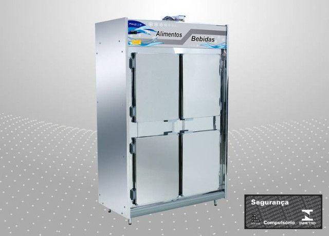 Geladeira Refrigerador Frost Free Inox 4 ou 6 portas PoloFrio