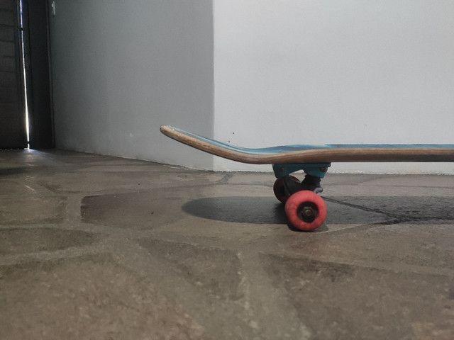 Skate montado semi novo - Foto 6