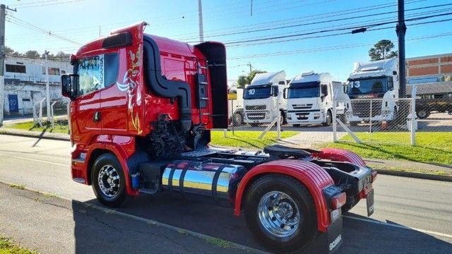 Scania R 440 4x2 Toco Automático Completo 2015 Rodas de Alumínio Fino Trato - Foto 4