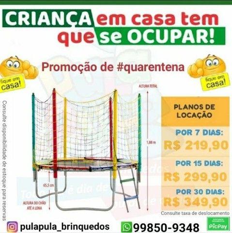 Mega Promoção: Aluguel de pula pula por 7, 15 ou 30 dias em sua casa ou apartamento - Foto 4