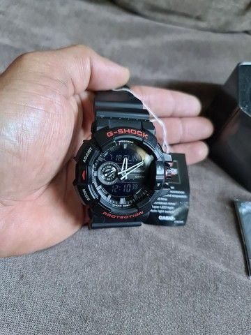 """""""Somente Venda"""" Relógio Casio G-shock Ga-400hr-1adr Ga 400hr Preto Vermelho - Foto 4"""