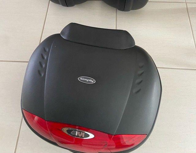 Bau moto Givi E450 Simply 45l + Encosto - Foto 4