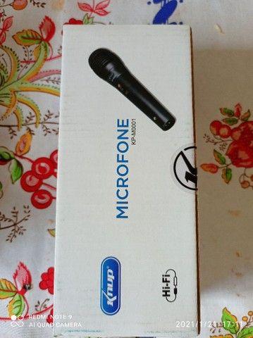 Microfone com fio toppp