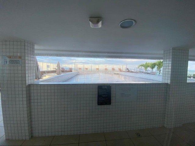 T.F Flat beira mar mobiliado em  Manaíra - Foto 4