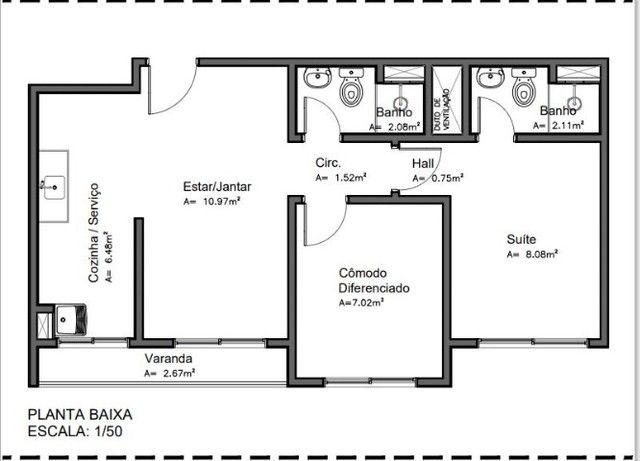 Apartamento de 2 e 3 quartos no Parque 10 - Foto 12