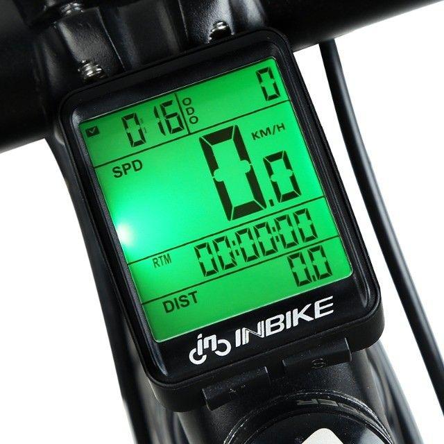 Ciclo Computador Velocímetro Bicicleta Bike Sem Fio Wireless