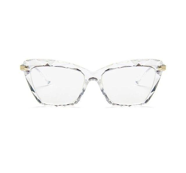 Armação gatinho para grau Óculos 3D  - Foto 2