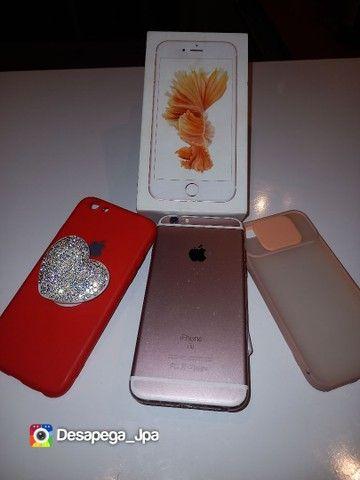 Iphone 6s 64 Gb impecável aceito trocas