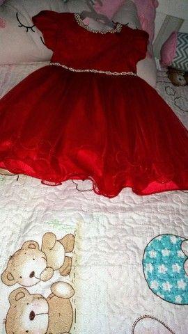 Vestido de Festa Vermelho - Foto 2