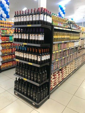 Gondolas pretas para supermercados/mercearia - Foto 4