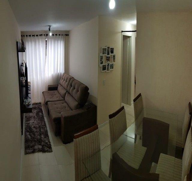 Apartamento com 3 quartos semi mobiliado no_Fazendinha - Foto 2