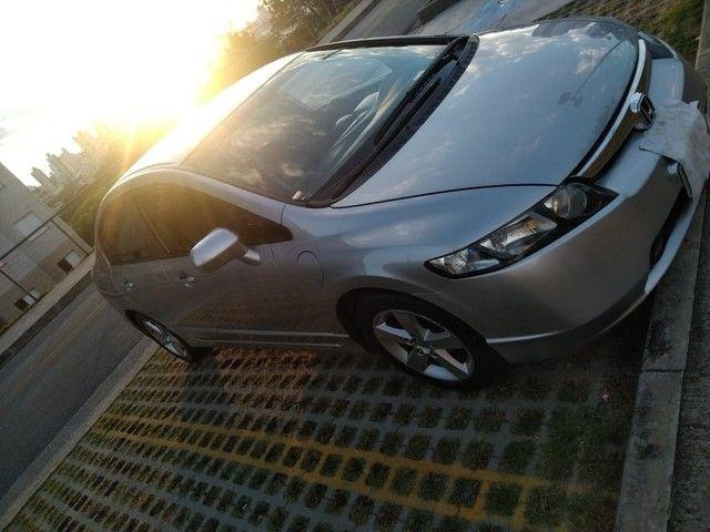 Honda Civic lxs 1.8 automático - Foto 3