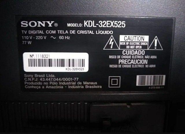 TV Sony Modelo: KDL - 32EX525 - Foto 6