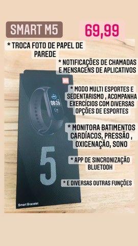 PROMOÇÃO RELÂMPAGO DE SMARTWATCHS M3 , M4 e M5 !!! - Foto 4