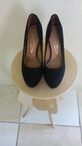 cd212b27c5 Sapato Vizzano salto alto tamanho 37 usado 2 vezes apenas - Roupas e ...
