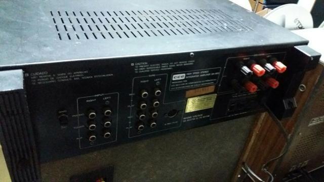 Amplificador integrado Cce SA-800 - Foto 2
