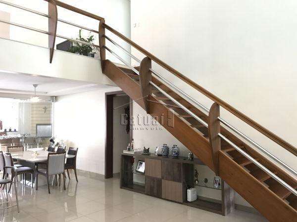 Casa sobrado em condomínio com 5 quartos no Royal Tennis - Residence & Resort - Bairro Gle - Foto 4