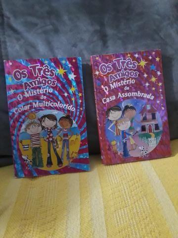 Livros infantis de aventura e mistério R$ 10