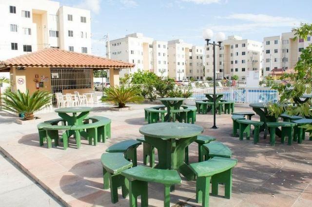 Alugo Apartamento Semi-mobiliado - Condomínio Ouro Negro - Próximo a Rodoviária da Cidade - Foto 10