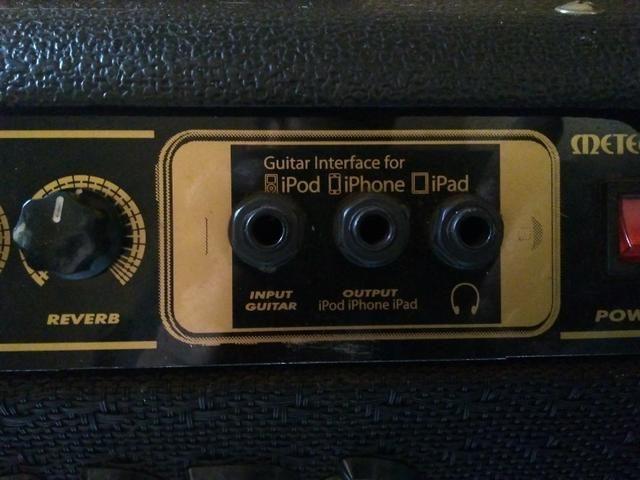 Amp Meteoro 50w - iAmp connections