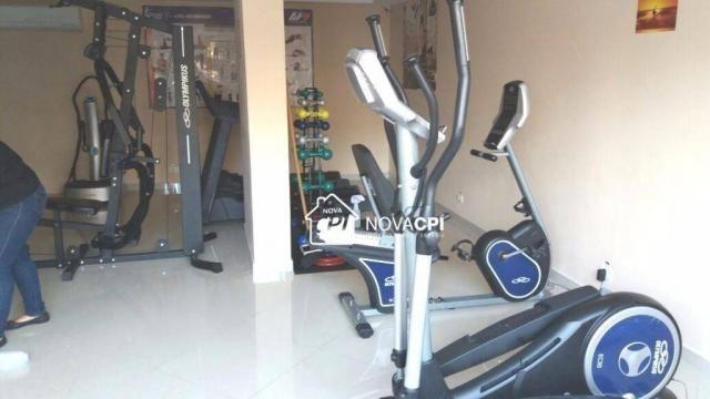 Apartamento para alugar, 123 m² por r$ 4.000,00/mês - aviação - praia grande/sp - Foto 11