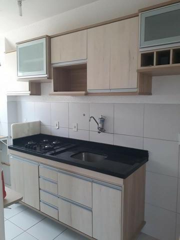Alugo Apartamento Semi-mobiliado - Condomínio Ouro Negro - Próximo a Rodoviária da Cidade - Foto 5