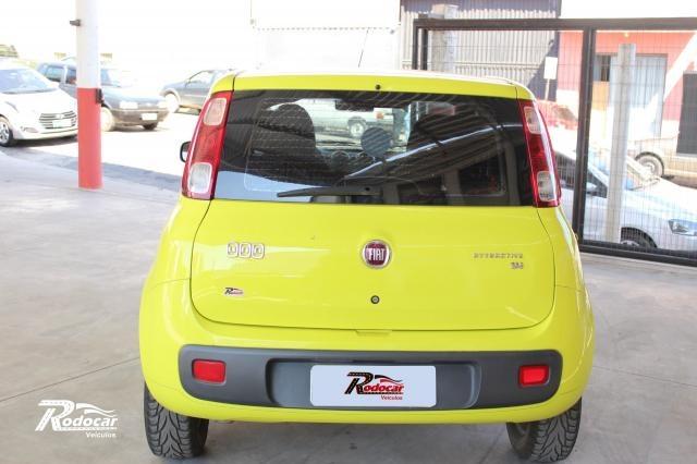 Fiat Uno Attractive Celebration 1.4 Amarelo - Foto 3